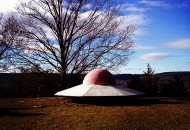 Untitled (UFO) from Harlem Valley by Danny Ghitis