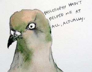 Philosophy Pigeon