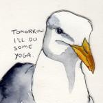 Yoga Seagull