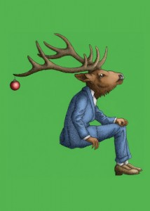 Ornament and Reindeer