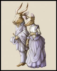 Deer Couple